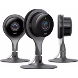 3 Camaras De Seguridad Nest Triple Set Wifi Inalambrico A134