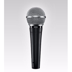 Microfono Para Voz Shure Sm48 Vocal Profesional Winners