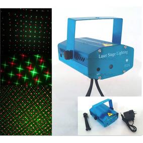 Mini Laser Lluvia Multipunto Led Formas Audioritmico Fiestas