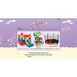 Site Para Locação De Brinquedos, Infantil, Festas E Eventos