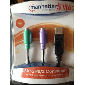 Convertidor Ps/2 A Usb (2 Puertos)