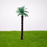 10 Coqueiros Árvore Miniatura Maquete Diorama 7 Cm Jardim