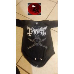 Pañalero, Metalero Mayhem, Ropa Bebe Rock, Luna Alterna Shop