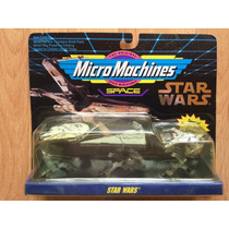 Star Wars Micromachines Set 3 Naves Halcón Imperial X Wing