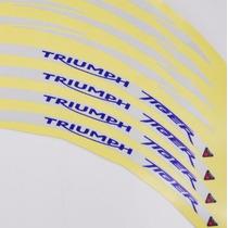 Friso Adesivo Refletivo Roda Logo Moto Triumph Tiger Todas