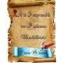 Kit Imprimible Diplomas 6to Grado Hasta Bachillerato