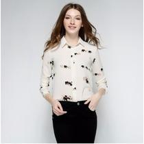 Blusa Camisa Roupas Feminina Mulher Senhora Grife Importada
