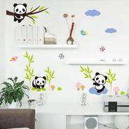 Adesivo Decorativo Infantil De Parede Para Quarto Urso Panda