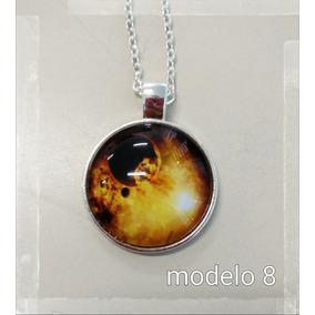 Colar Nebulosa Galáxia Fantástico Nostalgia Pedra Mistico