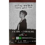 Justin Bieber Poster Afiche Presentacion En Lima
