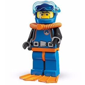 Lego Minifigures Series 1 Deep Sea Diver 8683 Original
