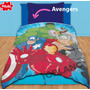 Sábana Y Frazada Avengers ® 1½ Set Vengadores + Envío Gratis