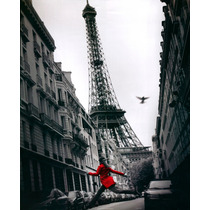 Cuadro Moderno, Paris, Torre Eiffel, 80x144cm