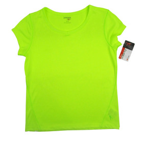 Preciosa Blusa Amarilla Para Niña Danskin Now Talla 7-8