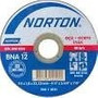 Disco Corte Aluminio Norton 22mm Fino 4/12 Kit 02 Unid
