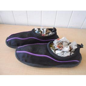 Zapatos Acuaticos Agual Alberca Nadar Talla M 9-10 #289
