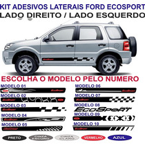Kit Faixa Lateral Ford Ecosport Freestyle Personalizada