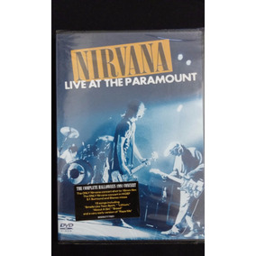 Dvd - Nirvana - Live At The Paramount ( Novo Lacrado )