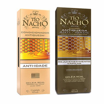 Kit Shampoo E Condicionador Tío Nacho Antiqueda 415ml