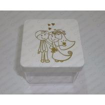 60 Caixinhas Noivos Noivinhos 6x6cm Lembrancinhas Casamento