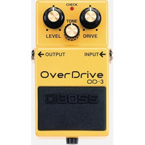 Pedal Boss Od-3 Over Drive Musical Store