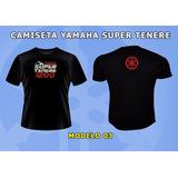 Camiseta Moto Yamaha Super Tenere 1200 (xt 1200 Z)