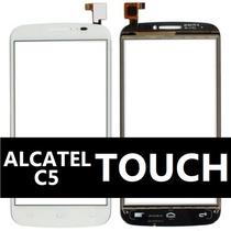 Touch Alcatel C5 Ot5036 Ot5036a 5036 5036a Blanco Negro Oem