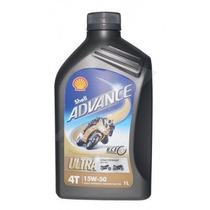 Óleo Shell Advance Ultra 15w50 - 100% Sintético (sae J 300)
