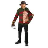 Freddy Krueger Suéter Con El Pecho De Las Almas - Estándar