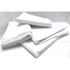 Pano De Chão / Saco Alvejado Branco ( 20 Peças )
