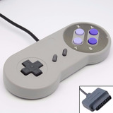 Kit 2 Controles Super Nintendo Snes Joystick Novo 2 Und