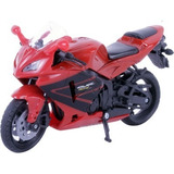 Moto Honda Cbr 600rr 2005 Escala 1:18 New Ray