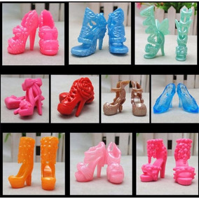 Kit 20 Pares Sapato P/ Barbie *não Repete Modelos* Sapatinho