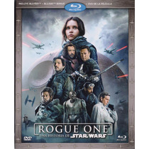 Rogue One Una Historia De Star Wars Blu-ray + Bonus + Dvd
