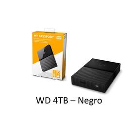 Disco Duro Portatil Externo 4tb Usb 3.0 La Mejor Marca Wd