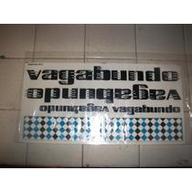 Calcomanias P/bicicleta Vagabundo