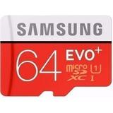 Cartão Samsung Micro Sdxc 64gb 80mb/s Galaxy S3 S4 S5 S7 Sd