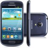 Seminovo - Smartphone S3 Mini Gt-i8190 8gb - Azul - Bom