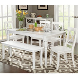 Simple Living 6pc Albury Dining Set With Mueble