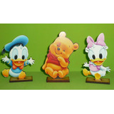 30 Souvenirs + Central Winnie Pooh Pato Donald Daisy Bebes