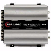 Amplificador Taramps Ts400 X4 Digital Sub Tweeter Corneta