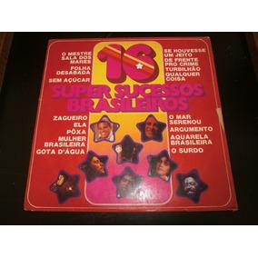 Lp 16 Super Sucessos Brasileiros, Disco Vinil, Ano 1975