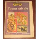 Fauna Salvaje Album De Oro Hoy Animales Antiguo Lleno