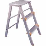 Escada Banqueta Aluminio Agata 3 Degraus
