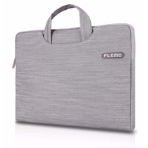 Funda Macbook Pro / Notebook With Denim Fabric And Carrying