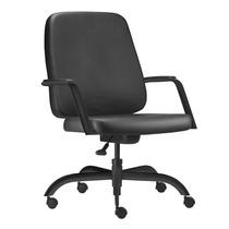 Cadeira Presidente P/ Obeso Suporta 200kg Escritorio