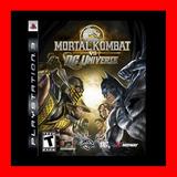 Mortal Kombat Vs. Dc Universe Ps3 Digital Oferta