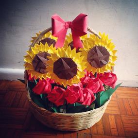 Rosas, Flores De Papel Origami/papiroflexia