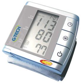 Medidor De Pressão Digital De Pulso G-tech Master Bp3bk1-3