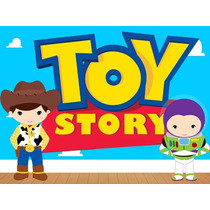 Kit Imprimible Toy Story Baby, Invitaciones, Cajitas Y Mas